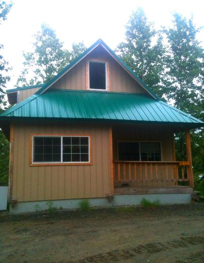 in cabins pet cafe rentals deck ninilchik alaska cabin